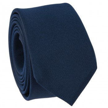 Mineral Blue Slim tie in Silk - Côme