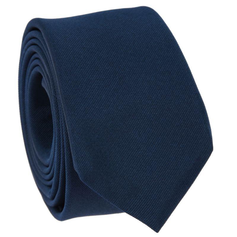 Mineral Blue Slim tie in Silk - Côme