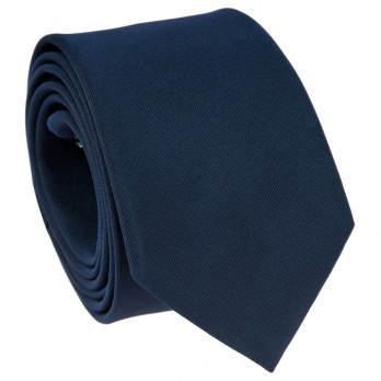 Mineral Blue Tie in Silk - Côme