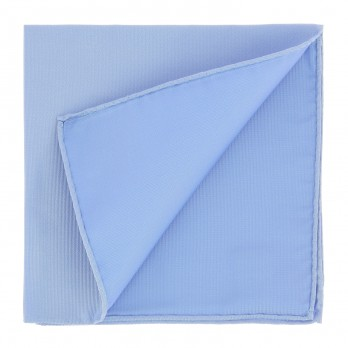 Light Blue Pocket Square in Silk - Côme