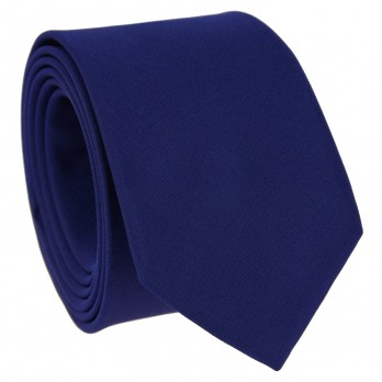 Indigo Blue Tie in Silk - Côme