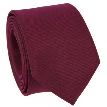 Raspberry Tie in Silk - Côme