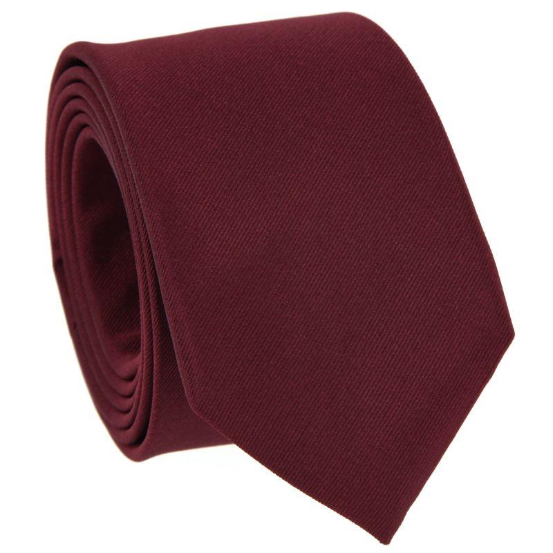 Burgundy Tie in Silk - Côme