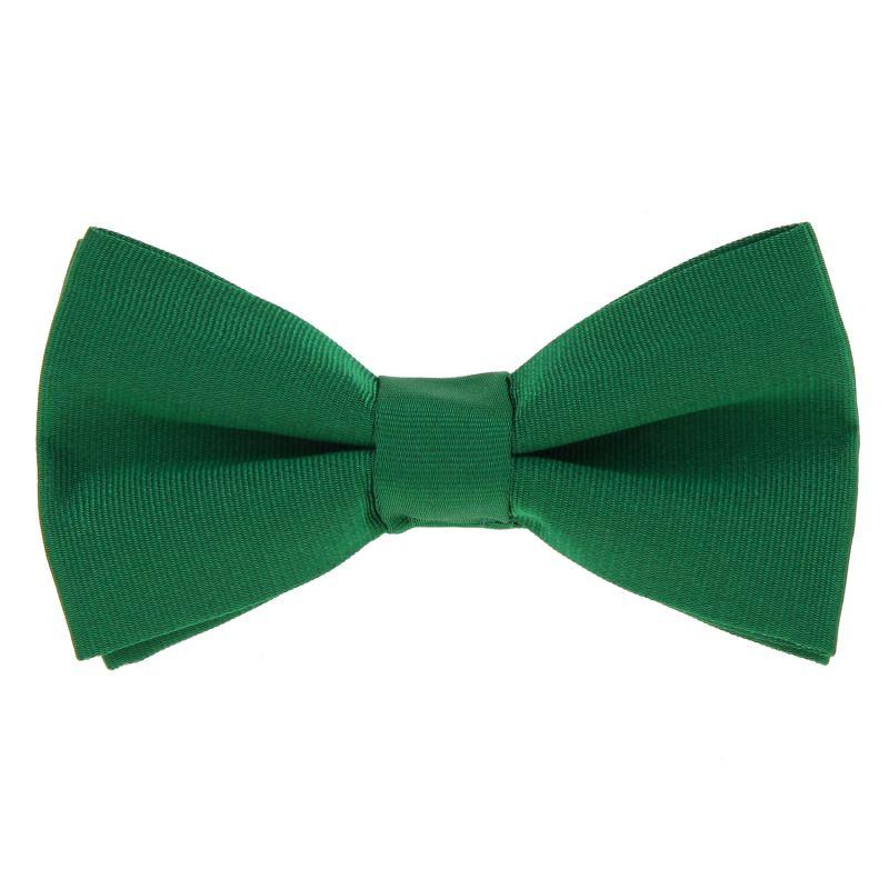 Green Bow Tie in Silk - Côme