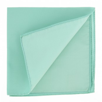Water Green Pocket Square in Silk - Côme