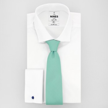 Water Green Tie in Silk - Côme