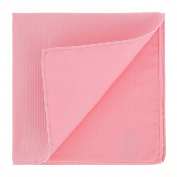 Pink Pocket Square in Silk