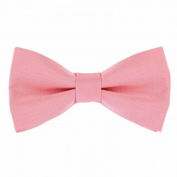 Pink Bow Tie in Silk - Côme