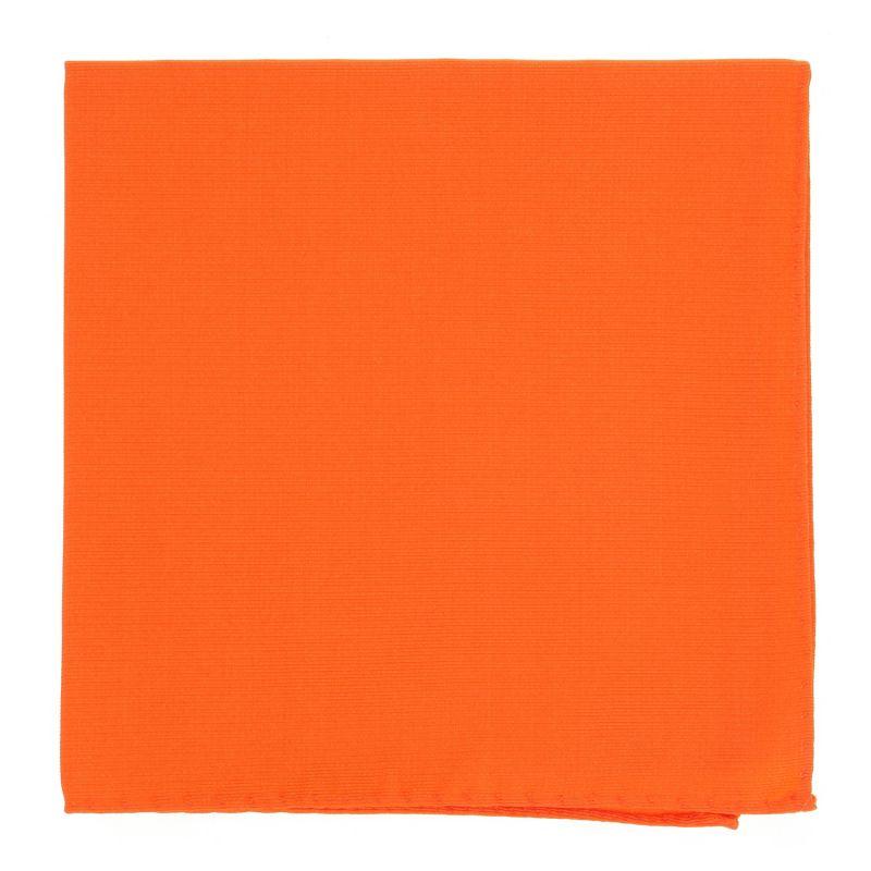 Orange Pocket Square in Silk - Côme