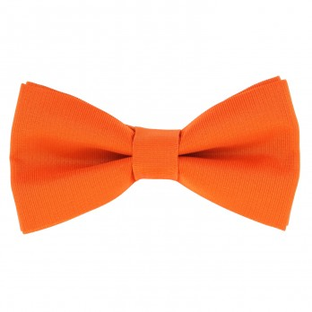 Orange Bow Tie in Silk - Côme