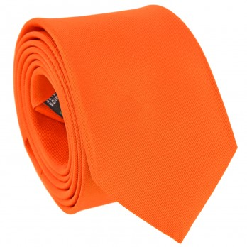 Orange Tie in Silk - Côme