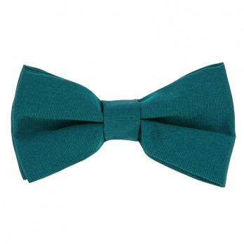 Petrol Blue Bow Tie in Silk
