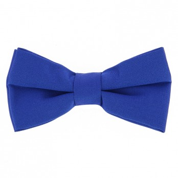 Cobalt Blue Bow Tie in Silk