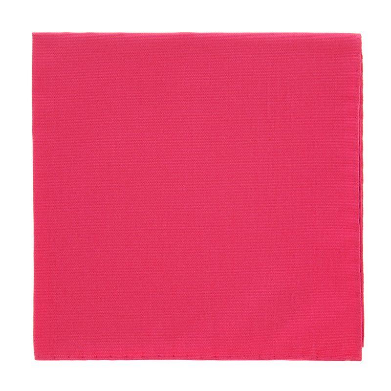 Fuchsia Pink Pocket Square in Silk