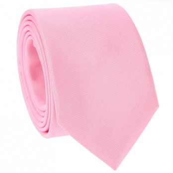 Light Pink Tie in Silk