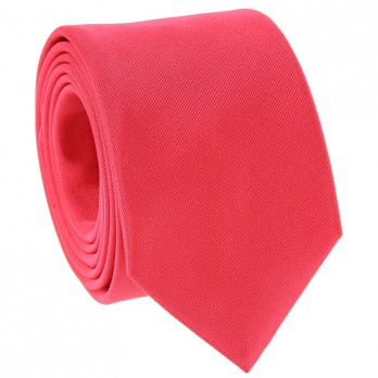 Coral Pink Tie in Silk