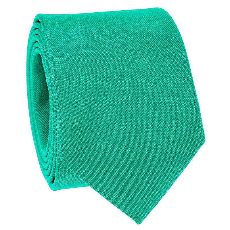 Viridian Green Tie in Silk