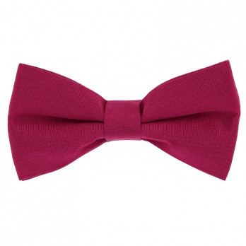 Grenadine Red Bow Tie in Silk - Côme