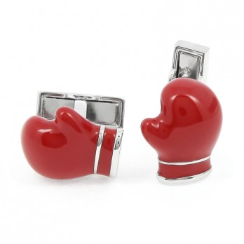 Boxing gloves cufflinks - Kinshasa