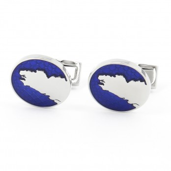 Brittany Map cufflinks