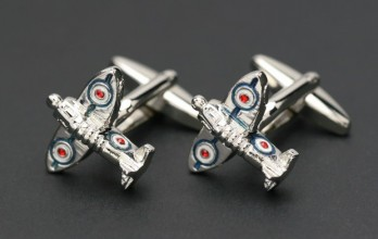airplane cufflinks - Woolston