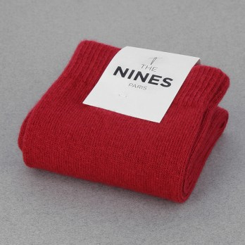 Red Cashmere Socks