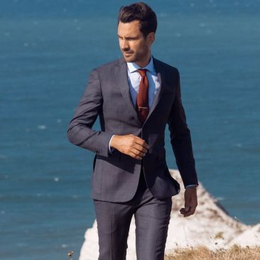 The 4 Seasons Suit - Grey Check