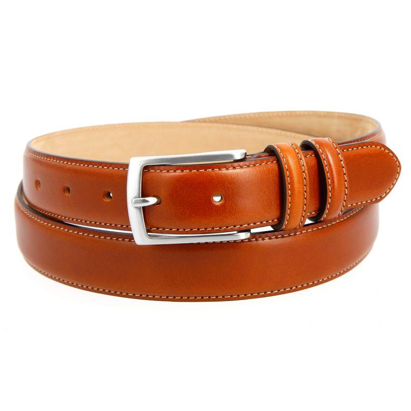 Camel leather belt - Ugo