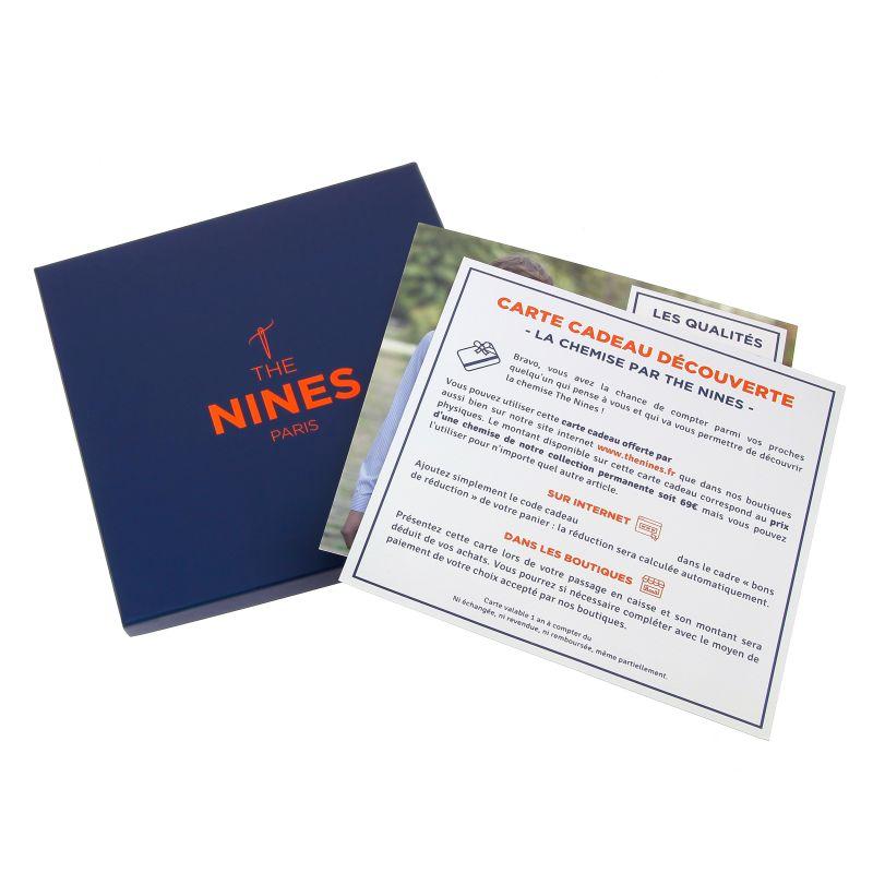 Carte Cadeau Chemise The Nines