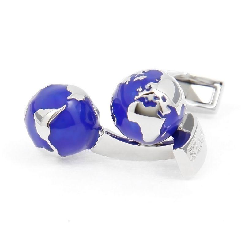 Earth globe cufflinks - Small World