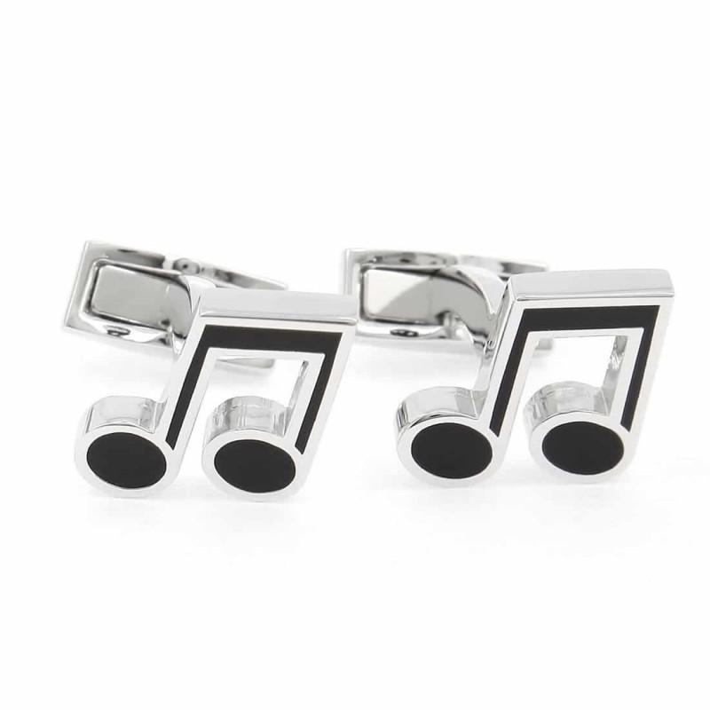 Music note cufflinks - Music Hall
