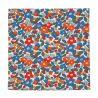 Coral Liberty pocket square - Currant