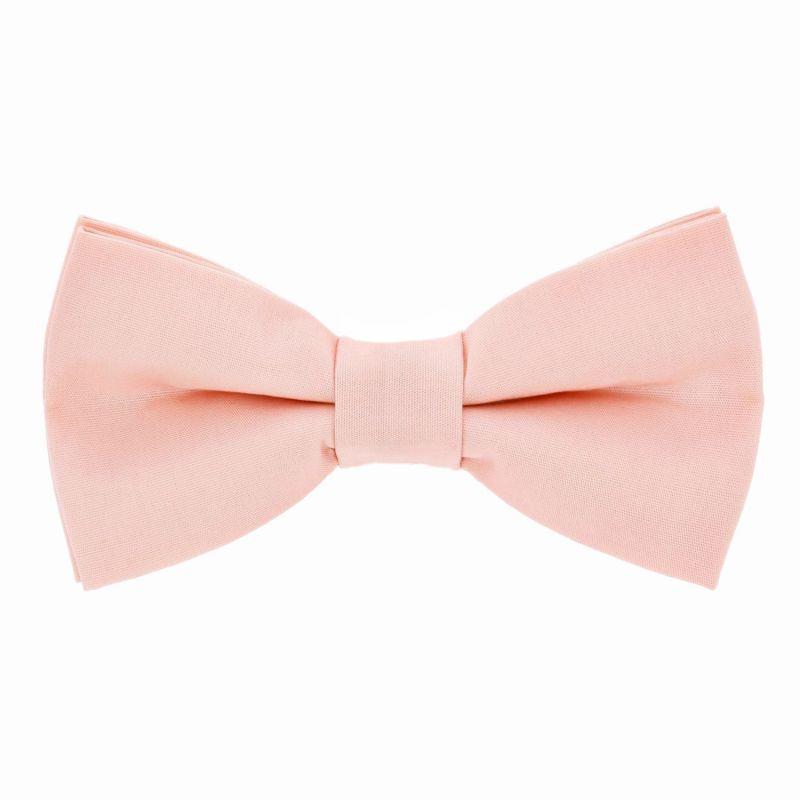 Peach pink bow tie - Sorrento