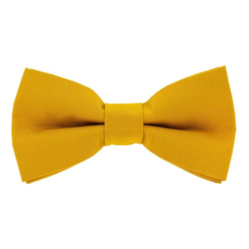 Mustard yellow bow tie - Sorrente