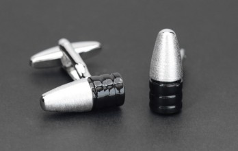 Bullet cufflinks - Arsenal