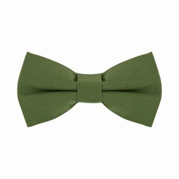 Olive green bow tie - Sorrente