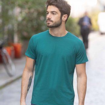 Quick dry T-shirt in Emerald Green
