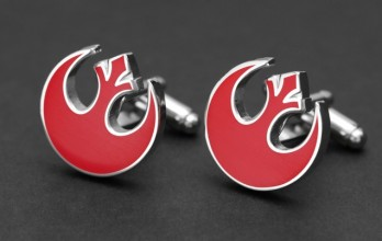 Star Wars cufflinks - Rebel Alliance Symbol