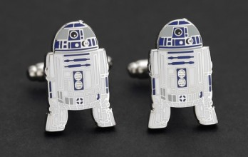 Star Wars cufflinks - R2D2