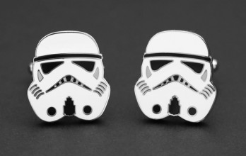 Star Wars cufflinks - Stormtrooper Head