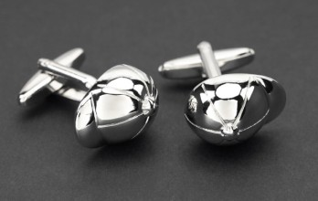 Riding helmet cufflinks - Saint-Cloud