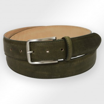 Men's belt in olive green - Tom