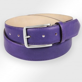 Men's belt in violett - Tom