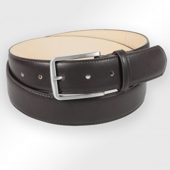 Men's belt in dark brown - Tom