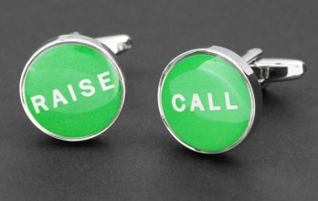 Call/Raise cufflinks - Estoril