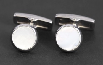 Hugo Boss Cufflinks - Kilus White