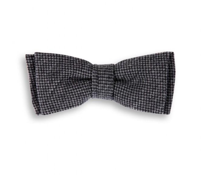 basket weave grey hugo boss wool bow tie the house of ties. Black Bedroom Furniture Sets. Home Design Ideas