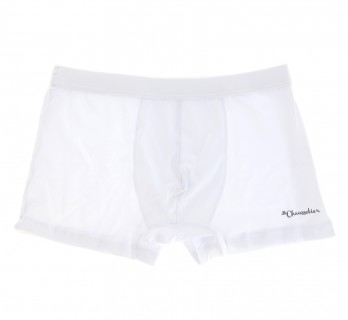 White boxer shorts