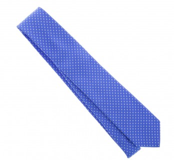 Light Blue with White Dots The Nines Tie - Atlanta II