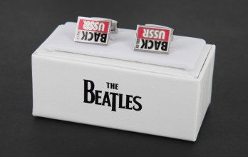 The Beatles cufflinks - Back in the USSR